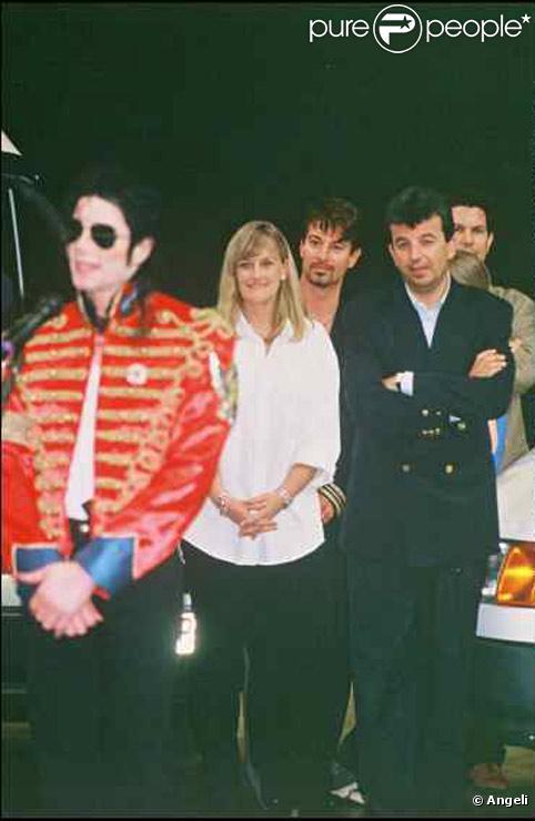 Debbie Rowe avec Michael Jackson en 1997