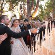 Elie Saab Jr (le fils du couturier Elie Saab) et Christina Mourad se sont mariés à Faqra. Le 19 juillet 2019.