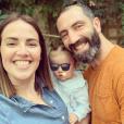 """Tiffany, Justin (de """"Mariés au premier regard"""" et leur fille Romy - photo Instagram du 18 juin 2019"""