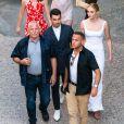 Exclusif - Sophie Turner et Joe Jonas à l'hôtel Crillon-le-Brave le 27 juin 2019 lors de leur mariage dans le sud de la France.