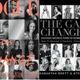 Meghan Markle avait contribué à l'ouvrage The Game Changers, publié en Australie en 2016 par Samantha Brett et Steph Adams, consacré à des femmes d'influence dont l'engagement change le monde, en écrivant un essai. Elle figurait également parmi les quinze personnalités présentées en couverture.