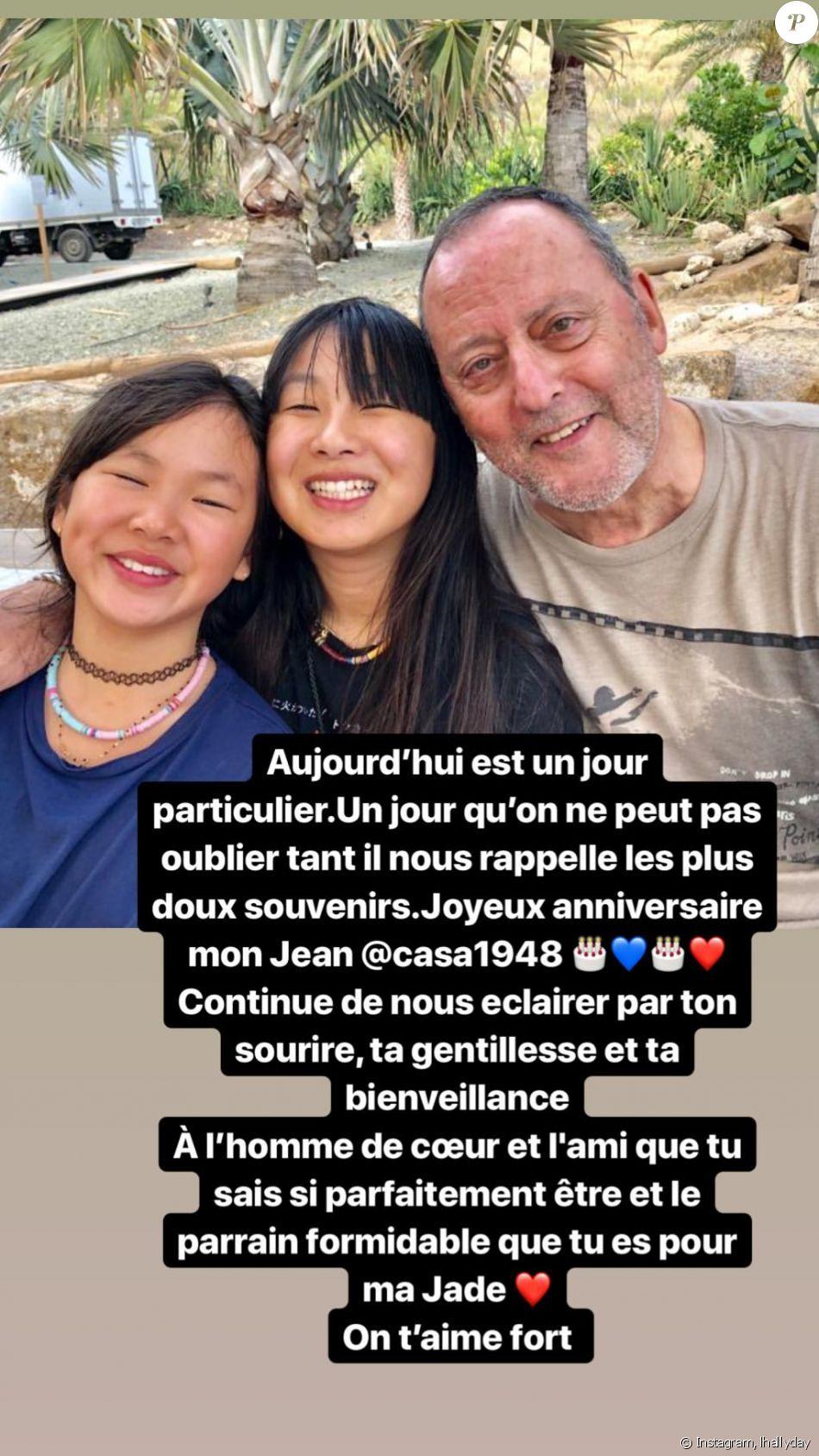 Laeticia Hallyday sur Instagram- Message à Jean Reno pour son anniversaire.