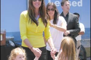 Brooke Shields en famille, Courteney Cox amoureuse, des stars à la pelle pour... un pique-nique géant !