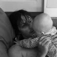 Norman Reedus et la petite fille qu'il partage avec sa compagne Diane Kruger, sur Instagram en juin 2019.