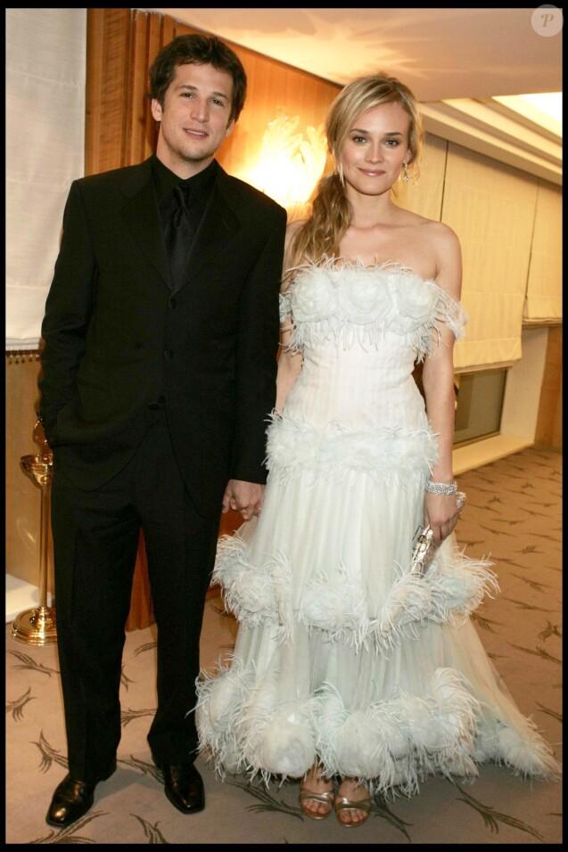Diane Kruger et Guillaume Canet au Festival de Cannes en 2004.
