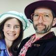 Amanda Knox et son compagnon Christopher Robinson, Instagram, le 9 juillet 2019