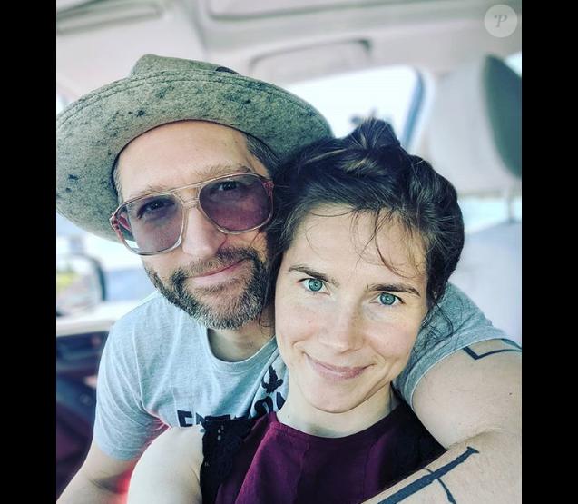 Amanda Knox et son compagnon Christopher Robinson, Instagram, le 11 juin 2019