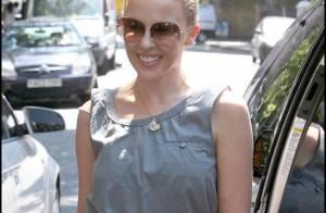 Kylie Minogue, toujours aussi radieuse est accro... à la technologie !