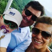 Laura Tenoudji et Christian Estrosi : Photos de famille pour les 2 ans de Bianca