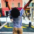 Laura Tenoudji, heureuse maman de Milan et Bianca. Sur Instagram, été 2019.