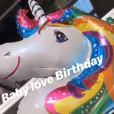 Karine Ferri et Yoann Gourcuff fêtent les 1 an de leur fille Claudia, le 16 juillet 2019