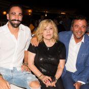 Adil Rami et Nicoletta : Duo improbable d'une soirée Gipsy à Saint-Tropez