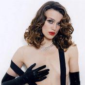 Quand la superbe Keira Knightley pose topless... et dévoile ses jambes de rêve !