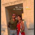 Victoria et David Beckham en vacances dans les Pouilles, en Italie, le 06 août 2019.