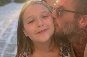 David Beckham : Tendres photos avec ses enfants et Victoria, en Italie