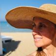 Lara Fabian en vacances en Sicile, avec son mari Gabriel. Le 12 août 2019.