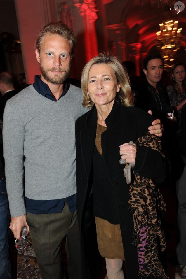 Archives - Arnaud Lemaire et Claire Chazal - 25 ans du magazine TV Mag, à Paris, le 8 février 2012.