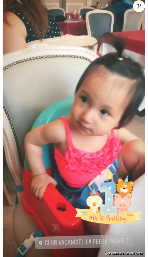 Emma-Rose, la fille de Samuel Le Bihan et Angela a fêté son premier anniversaire le 13 août 2019.
