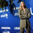 Elsa Hosk assiste au gala d'été Unicef x Luisaviaroma à Porto Cervo en Italie, le 9 août 2019.