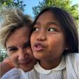 Hélène Darroze fête l'anniversaire de sa fille Quiterie, le 17 août 2019.