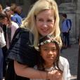 Hélène Darroze et sa fille Quiterie, mai 2019.