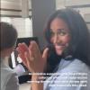 Meghan Markle côté coulisses : la duchesse au naturel et surexcitée en vidéo