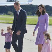 Kate Middleton et William à bord d'un vol low-cost avec leurs enfants