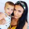 Julie Ricci et son fils Gianni, Instagram, le 4 août 2019