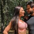 Julie Ricci et Pierre-Jean Cabrières complices sur Instagram, le 28 juillet 2019