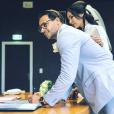 Pierre-Jean Cabrière et Julie Ricci lors de leur mariage civil en décembre 2018