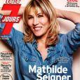 Mathilde Seigner est en couverture de Télé 7 Jours du 31 août au 6 septembre 2019.