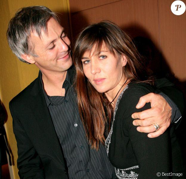 Mathilde Seigner et Mathieu Petit le 10 novembre 2007 à Paris.