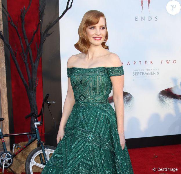 """Jessica Chastain à l'avant-première de """"Ça : Chapitre 2"""" au Regency Village Theatre. Los Angeles, le 26 août 2019."""