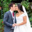 Le mariage religieux de Louis Ducruet et Marie Chevallier célébré à Monaco le 27 juillet 2019.