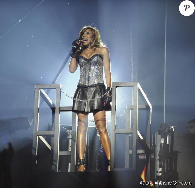 Cathy Guetta hier soir pour la grande soirée Unighted a tout donné comme une grande star internationale ! Une soirée électrique !
