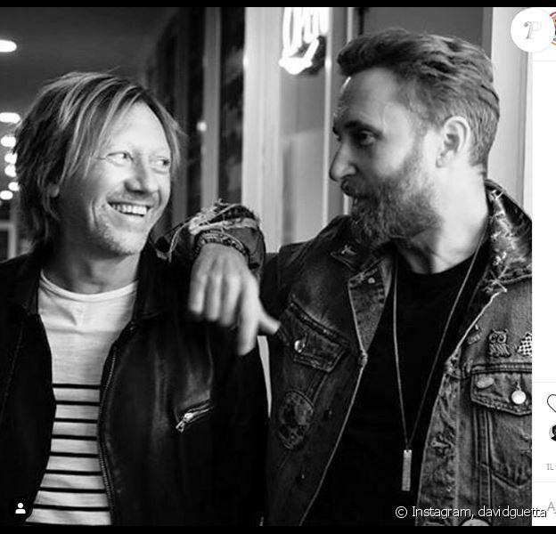 David Guetta réagit à la mort de son ami et compositeur Fred Rister sur Instagram le 20 août 2019.