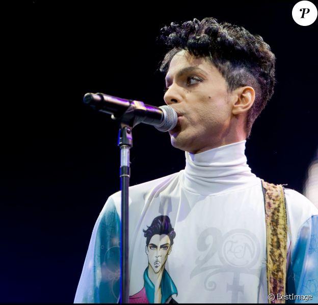 Concert de Prince à Arras en 2010.
