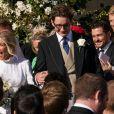 Ellie Goulding et son mari Caspar Jopling, Orlando Bloom - Mariage de Ellie Goulding et Caspar Jopling en la cathédrale d'York, le 31 août 2019