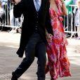 Joe Wicks et sa femme Rosie Jones - Les invités arrivent au mariage de E. Goulding et C. Jopling en la cathédrale d'York, le 31 août 2019