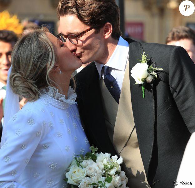 Le mariage d'Ellie Goulding et de Caspar Jopling, le 31 août 2019.
