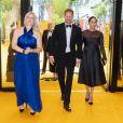 """Le prince Harry, duc de Sussex, et Meghan Markle, duchesse de Sussex, à la première du film """"Le Roi Lion"""" à Londres, le 14 juillet 2019."""