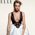 """Cara Delevingne en couverture de """"Elle UK""""- Septembre 2019."""
