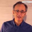 Jean-Jacques Goldman dans Quotidien, le 2 septembre 2019.
