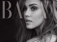 Jessica Alba topless en couv' du Bazaar : Elle livre les secrets de son physique