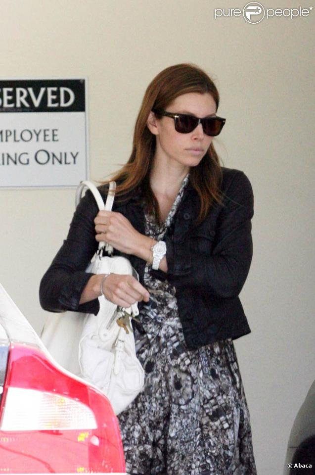 Jessica Biel à West Hollywood, le 6 juillet 2009