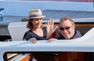 Jean Dujardin et sa femme Nathalie Péchalat, amoureux fous à Venise