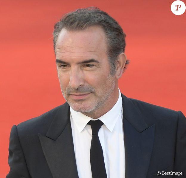 """Jean Dujardin - Red carpet pour le film """"J'accuse !"""" lors du 76e festival du film de venise, la Mostra le 30 Août 2019."""