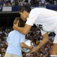 La présentation de Cristiano Ronaldo, nouveau numéro 9 merengue, au stade Santiago Bernabeu du Real Madrid, a pulvérisé les records d'affluence