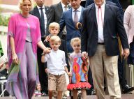Charlene de Monaco et sa fille Gabriella : duo craquant en tenues bariolées