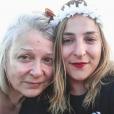Marilou Berry et sa mère Josiane Balasko sur Instagram, le 15 avril 2019.